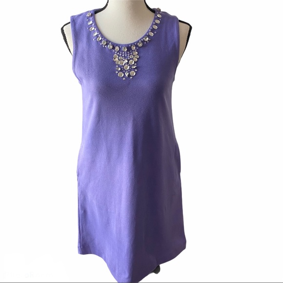 Crewcuts Lavender Embellished Dress- Size 16